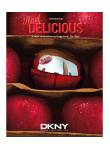 DKNY Be Delicious Red Men Woda toaletowa 100 ml TESTER