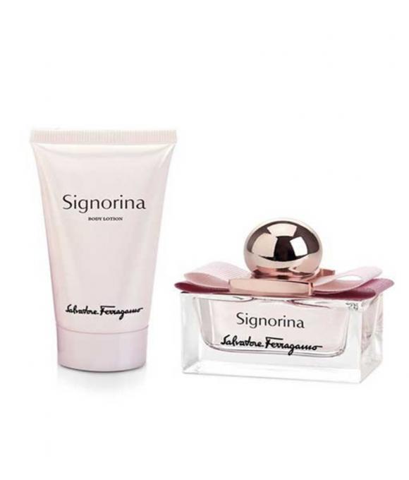 Salvatore Ferragamo Signorina Zestaw Woda Perfumowana 30 ml + Balsam 50 ml