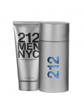 Carolina Herrera 212 Men Nyc Woda Toaletowa 100 ml + Żel Po Goleniu 100ml