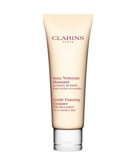 Clarins Gentle Foaming Cleanser With Shea Butter Żel Oczyszczający do Twarzy Tester 125 ml