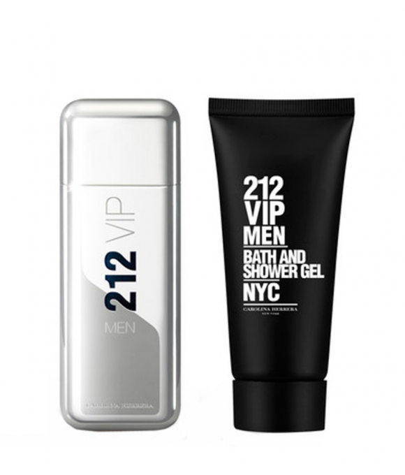Carolina Herrera 212 Vip Men Edt 10o ml + Żel pod Prysznic 100 ml