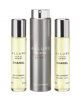 Allure Homme Sport Eau Extreme Woda perfumowana 3 x 20 ml