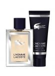 Lacoste L'Homme Zestaw Woda Toaletowa 50 ml + Żel pod Prysznic 50 ml