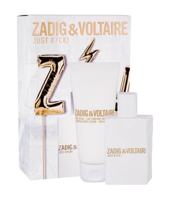 Zadig & Voltaire Just Rock Zestaw EDP 50 ml+ Balsam 100 ml
