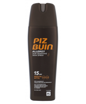 Piz Buin Allergy Sun Sensitive Skin Spray do Opalania SPF 15 200 ml