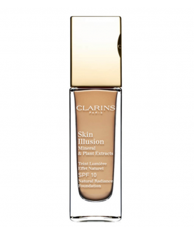 Clarins Skin Illusion Mineral & Plant Extracts SPF 10 Podkład do Twarzy NR 112 Amber 30 ml