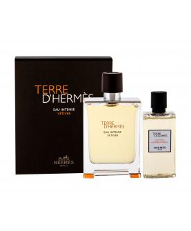 Hermes Terre D'Hermes Eau Intense Vetiver Woda Perfumowana 100 ml + Żel 80 ml Zestaw