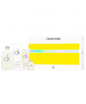 Calvi Klein CK One Woda Toaletowa 200 ml + Balsam 200 ml + Żel 100 ml + EDT 15 ml Zestaw
