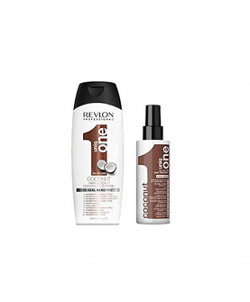 Revlon Professional Uniq One Coconut Zestaw Szampon 300 ml + Maska All in One 150 ml