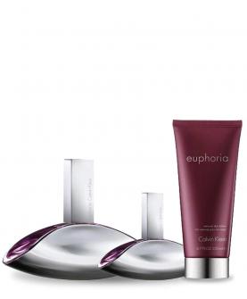 Calvin Klein Euphoria Women Woda Perfumowana 100 ml + EDP 30 ml + Balsam 100 ml Zestaw