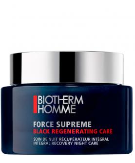 Biotherm Homme Force Supreme Black Regenerating Care Krem na Noc 75 ml