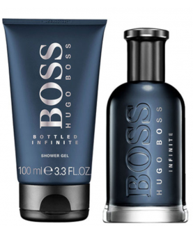 Hugo Boss Boss Bottled Infinite Woda Perfumowana 50 ml + Żel 100 ml Zestaw