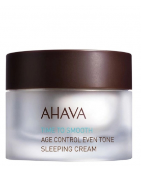Ahava Time To Smooth Age Control Even Tone Sleeping Cream Krem na Noc 50 ml