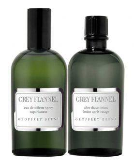 Geoffrey Beene Grey Flannel  Woda Toaletowa 120 ml + Balsam po Goleniu 120 ml Zestaw