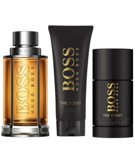 Hugo Boss The Scent Woda Toaletowa 100 ml + Dezodorant 75 ml + Żel 50 ml Zestaw