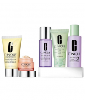 Clinique Daily Esentials Dramatically Different Moisturizing Lotion + Zestaw