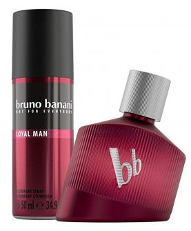 Bruno Banani Loyal Man Zestaw Woda Perfumowana 30 ml + Dezodorant 50 ml