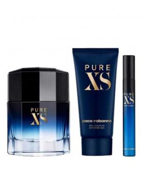 Paco Rabanne Pure XS Woda Toaletowa 100ml + EDT 10 ml + Żel 100 ml Zestaw