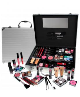 2K Beauty Unlimited Train Case Zestaw Kosmetyków do Makijażu 63,2 g