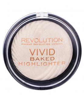 Makeup Revolution Vivid Baked Highlighter Golden Lights Rozświetlacz 7,5 g
