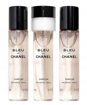 Chanel Bleu de Chanel Parfum Wkłady 3 x 20 ml