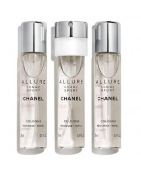 Chanel Allure Home Sport Cologne Męska Woda Kolońska 3 x 20 ml