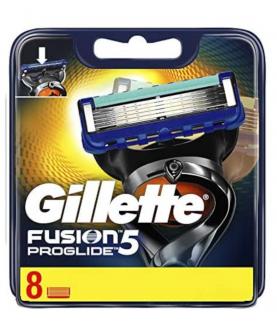 GIillette Fusion 5 Proglide Wkłady do Maszynki 8 szt