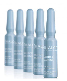 Thalgo Source Marine Absolute Radiance Serum do Twarzy Ampułki 7 x 1,2 ml