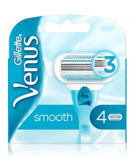 Gillette Venus Smoth Wkłady do Maszynki 4 szt
