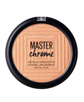 Maybelline Master Chrome Rozświetlacz 100 Molten Gold 9 g