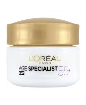 L'Oreal Paris Age Specialist 55+ Krem pod Oczy 15 ml
