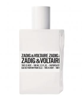 Zadig & Voltaire This is Her! Eau de Parfum pour Elle 100 ml Tester