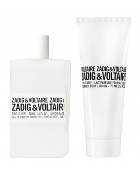 Zadig & Voltaire This is Her Zestaw upominkowy EDP 50ml + balsam 75 ml
