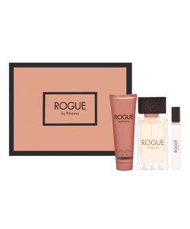 Rihanna Rogue by Rihanna Zestaw Woda Perfumowana 125 ml + Miniatura edp 6 ml + Balsam 90 ml