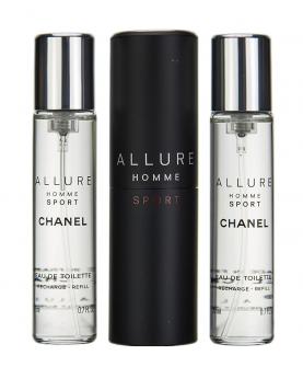 Chanel Allure Homme Sport Woda Toaletowa 3 x 20 ml