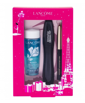 Lancome Hypnose Drama Waterproof Zestaw Tusz do Rzęs 01 Excessive Black 6 ml + Kredka 0.7 g + Płyn do Demakijażu 30 ml