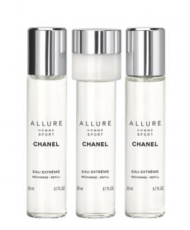 Chanel Allure Homme Sport Eau Extreme Woda Toaletowa Wkłady 3 x 20 ml