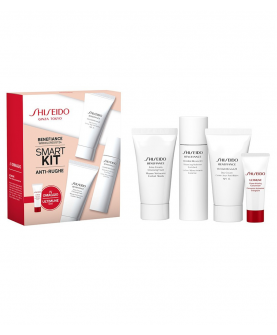 Shiseido Benefiance Wrinkle Resist 24 Smart Kit Zestaw Pielęgnacyjny Pianka 30ml + Tonik 30ml + Krem 30ml + Koncentrat 5ml
