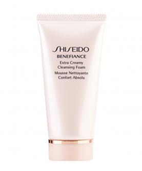 Shiseido Benefiance Extra Creamy Cleansing Foam Pianka Oczyszczająca 50 ml