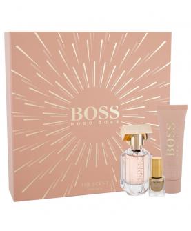 Hugo Boss The Scent For Her Zestaw Woda Perfumowana 30 ml + Mleczko do Ciała 50 ml + 4,5 ml Lakier do paznokci