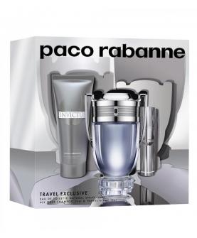 Paco Rabanne Invictus Zestaw Woda Toaletowa 100 ml + EDT 10 ml + Żel 100 ml
