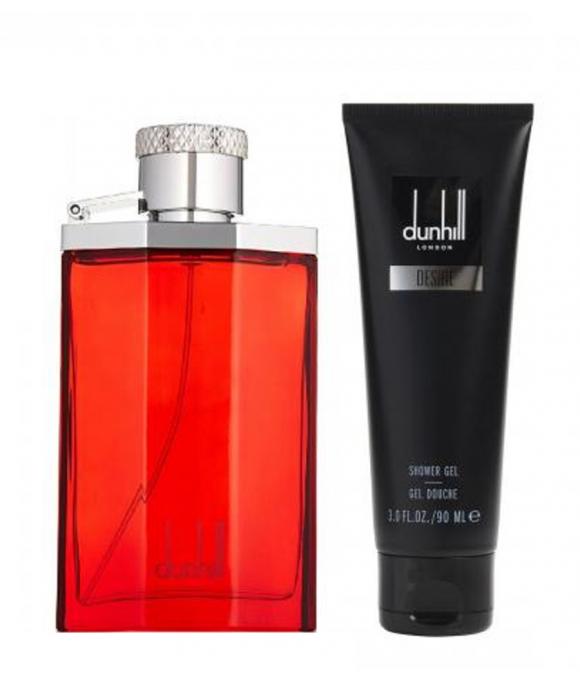 Dunhill Desire Zestaw Woda Toaletowa 100 ml + Żel 90 ml + Balsam 90 ml + Kosmetyczka