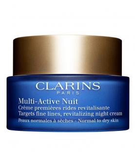 Clarins Multi-Active Nuit Krem na Noc Cera Normalna i Sucha 50 ml