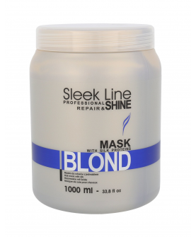 Stapiz Sleek Line Blond Maska do Włosów 1000 ml