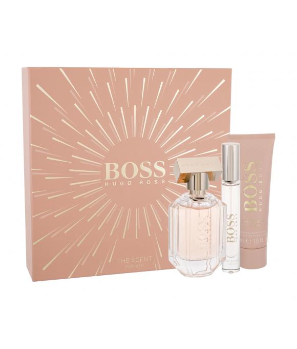 Hugo Boss Boss The Scent For Her Woda Perfumowana 50 ml + Edp 7,4 ml + Balsam Do Ciała 50 ml Zestaw